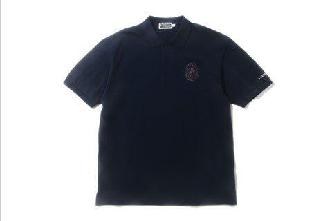 RELAXED MULTI COLOR CRYSTAL STONE POLO