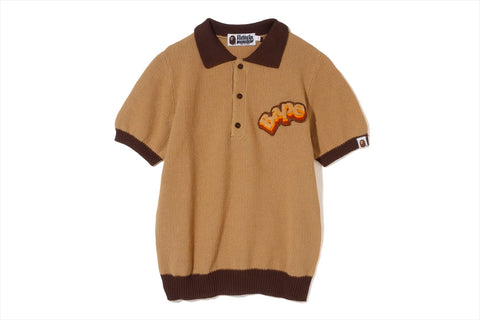 BAPE KNIT POLO