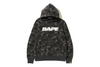 COLOR CAMO DAMAGE WIDE PULLOVER HOODIE