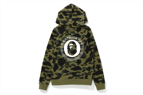 1ST CAMO PULLOVER HOODIE