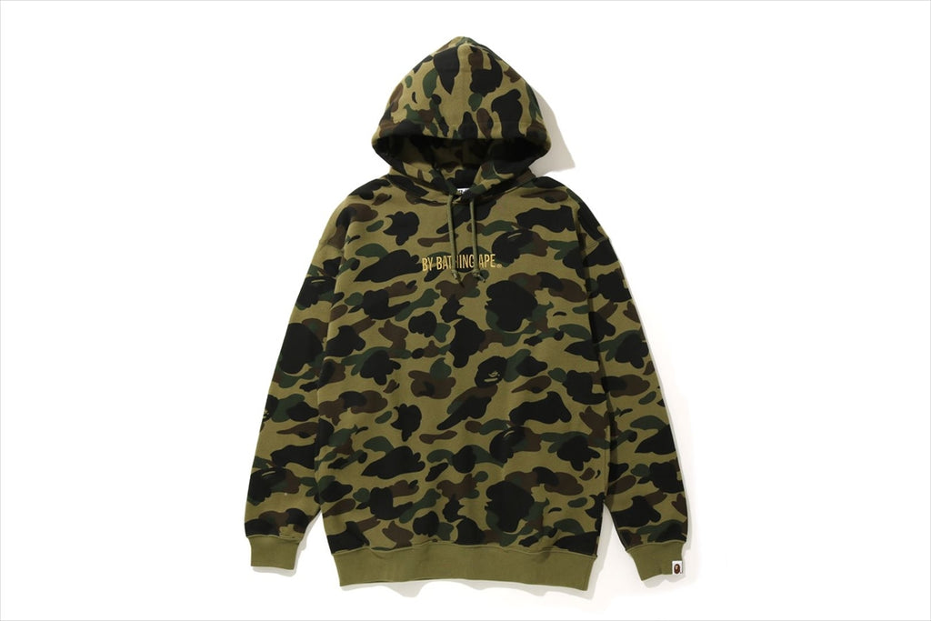 1ST CAMO OVERSIZED PULLOVER HOODIE