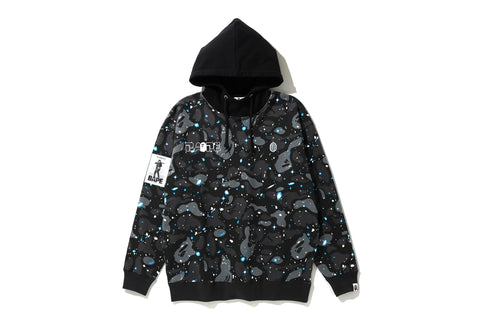 SPACE CAMO OVERSIZED PULLOVER HOODIE