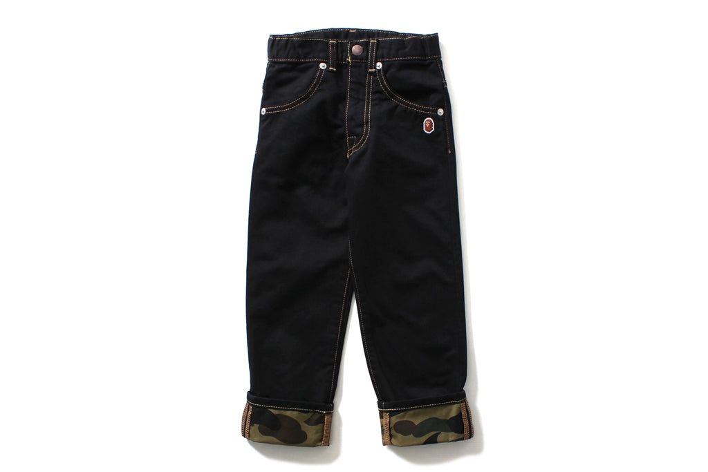 1ST CAMO TRIM PANTS