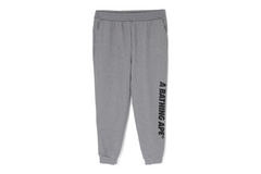 A BATHING APE SLIM SWEAT PANTS