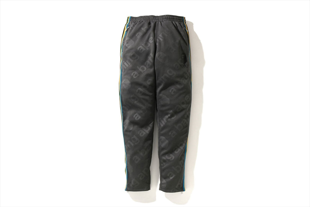 A BATHING APE SIDE TAPE JERSEY PANTS