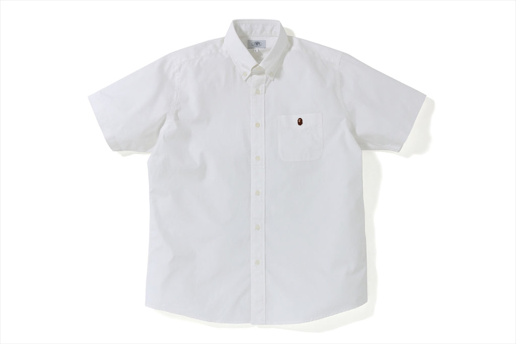 RELAXED OXFORD S/S SHIRT