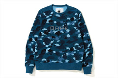 GRADATION CAMO WIDE CREWNECK