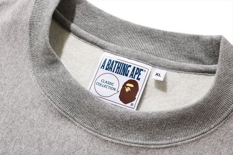 RELAXED FIT COLLEGE CREWNECK
