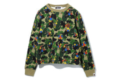 ABC CAMO FLOWER CREWNECK