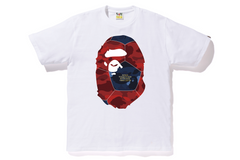 COLOR CAMO APE HEAD TEE