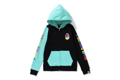 MULTI COLLEGE FULL ZIP HOODIE