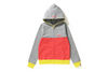 COLOR BLOCK FULL ZIP HOODIE