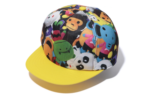 MILO ALL PLUSH DOLL SNAP BACK CAP