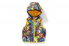 MILO ALL SAFARI REVERSIBLE HOODIE VEST