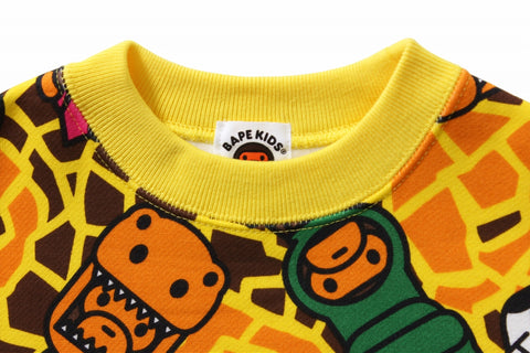 MILO DINOSAURS LONG LENGTH CREWNECK