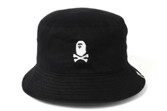 APE CROSSBONE BUCKET HAT