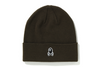 APE CROSSBONE LABEL KNIT CAP