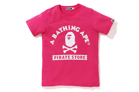 A BATHING APE PIRATE STORE CROSSBONE TEE