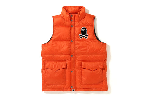 APE CROSSBONE DOWN VEST