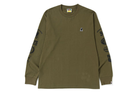 ONE POINT & MULTI LOGO L/S TEE