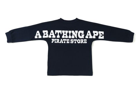 A BATHING APE PIRATE STORE L/S TEE