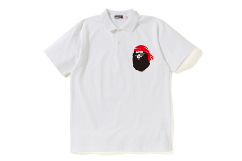 PIRATE APE ONE POINT POLO