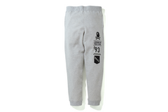APE CROSSBONE SLIM SWEAT PANTS