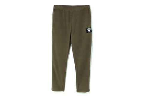 PIRATE COLLEGE LABEL FLEECE PANTS