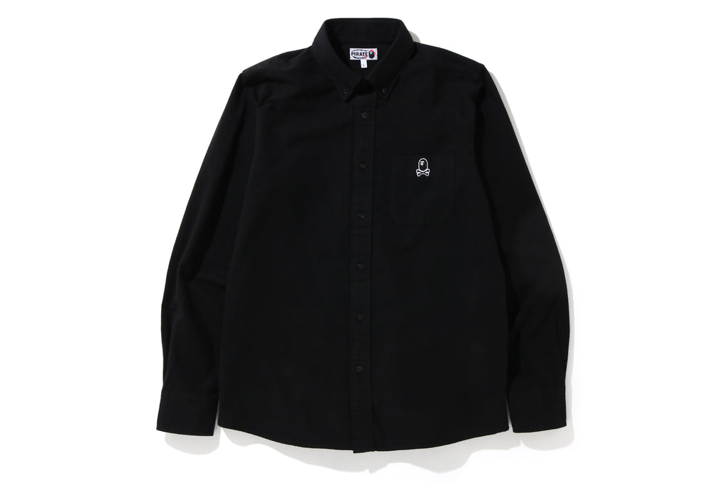 APE CROSSBONE FLANNEL SHIRT