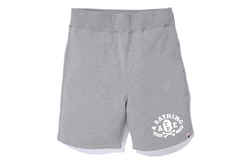 APE CROSSBONE PIRATE STORE SWEAT SHORTS