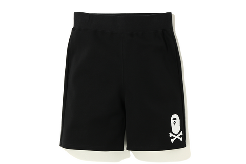 DOUBLE KNIT APE CROSSBONE SHORTS