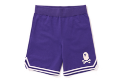 APE CROSSBONE BASKETBALL SWEAT SHORTS