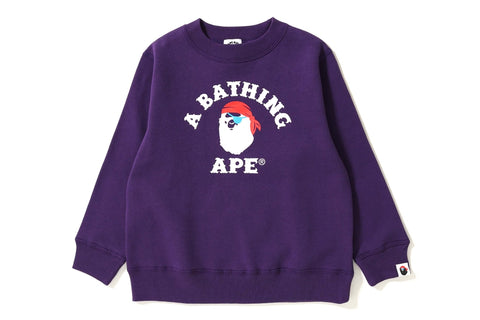 PIRATE COLLEGE CREWNECK