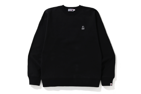 A BATHING APE PIRATE STORE WIDE CREWNECK