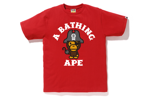 CAPTAIN MILO PIRATE TEE