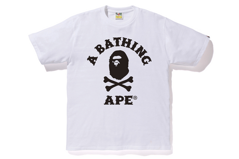 APE CROSSBONE COLLEGE TEE