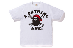 APE PIRATE CROSSBONE TEE