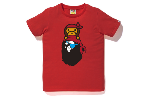 PIRATE MILO ON APE HEAD TEE