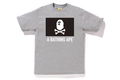 APE CROSSBONE FLAG TEE