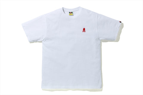 COLOR APE CROSSBONE ONE POINT TEE