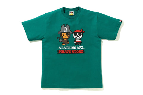 CAPTAIN MILO & BONE PIRATE TEE
