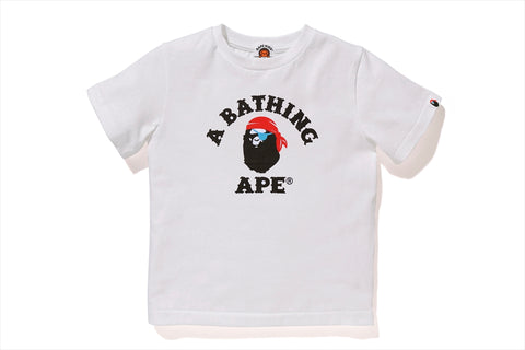 PIRATE APE COLLEGE TEE