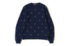 MR PATTERN EMBROIDERY CREWNECK