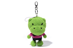 KEY CHAIN PLUSH HIPPO