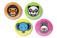 CAN BADGE MILO&ANIMALS 1
