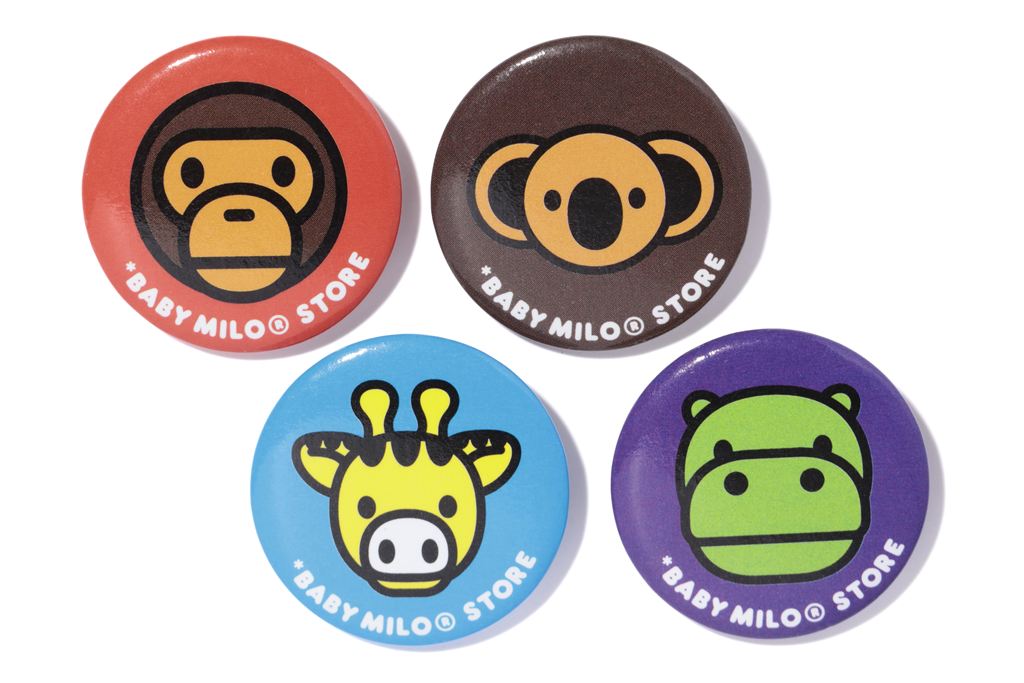 CAN BADGE MILO&ANIMALS 2