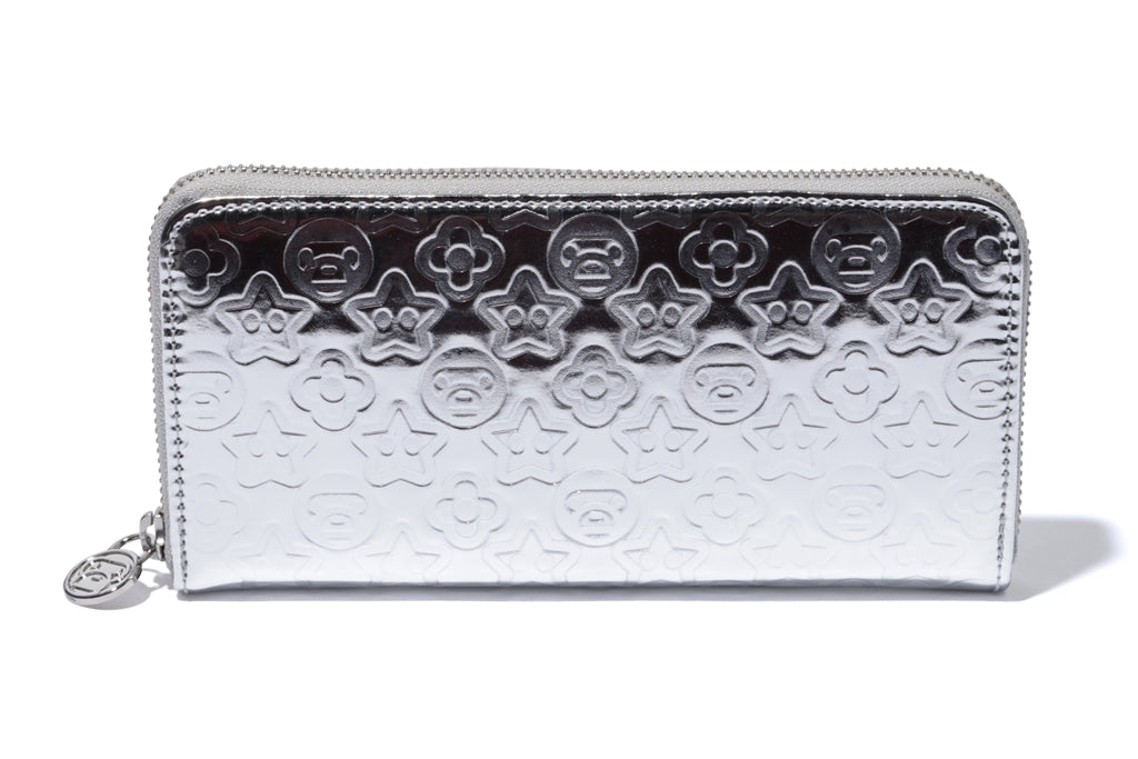 WALLET L EMBOSSED PU