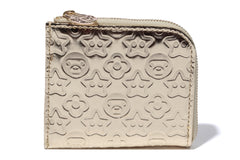 WALLET S EMBOSSED PU
