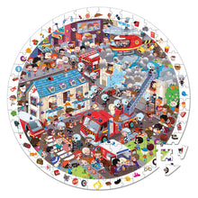Observation Firefighter Puzzle