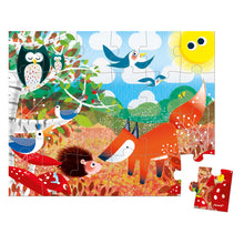 Forest Animals Suitcase Puzzle